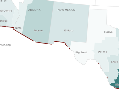 Where Does Illegal Immigration Mostly Occur? Here's What The Data Tell Us