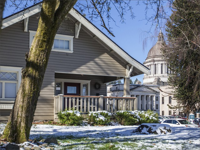 This home is one of 18 owned or used by lobbyists in Olympia's South Capitol neighborhood, across the street from the state Capitol campus.