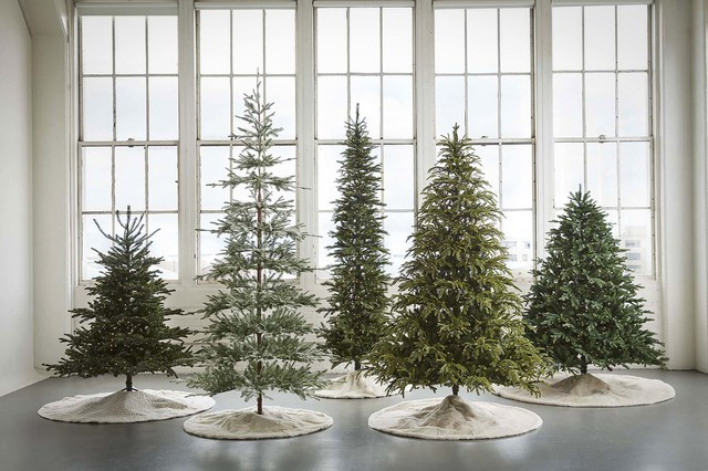 The American Christmas Tree Association, which represents manufacturers and retailers of real and artificial trees, is trying to highlight popular trends with artificial trees, and claims the trees look more realistic every year.