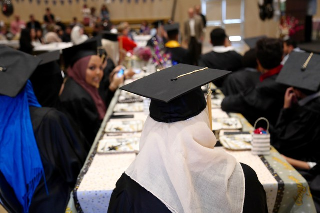 The only Islamic-based high school in the Pacific Northwest, Oregon Islamic Academy, graduated its seventh class of seniors on Saturday June 10, 2017.