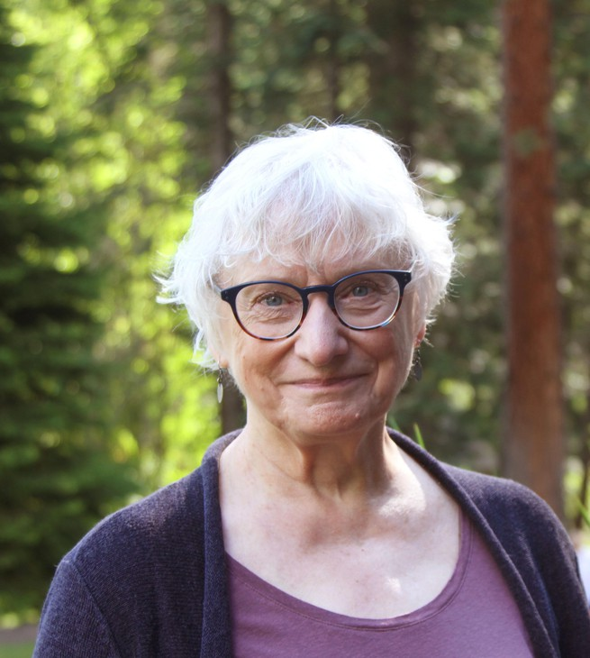 """Oregon writer Molly Gloss was a finalist for the PEN/Faulkner Award for American Fiction, a winner of both the Pacific Northwest Booksellers Award and the Oregon Book Award. Her latest book, """"Unforeseen,"""" is a collection of short stories."""