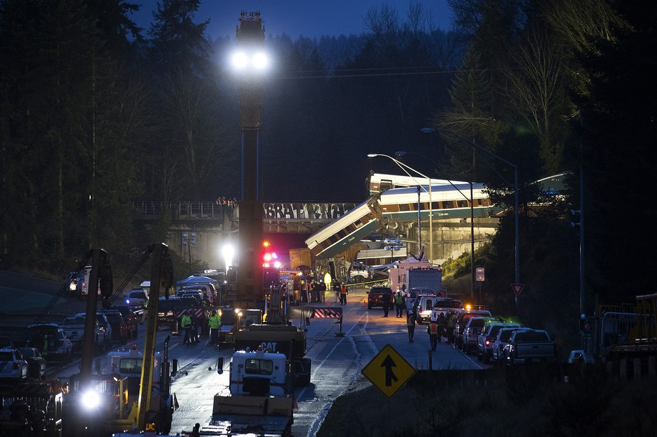 The first of many lawsuits stemming from the December 2017 derailment of Amtrak Cascades Train 501 went to trial in Tacoma on Tuesday.