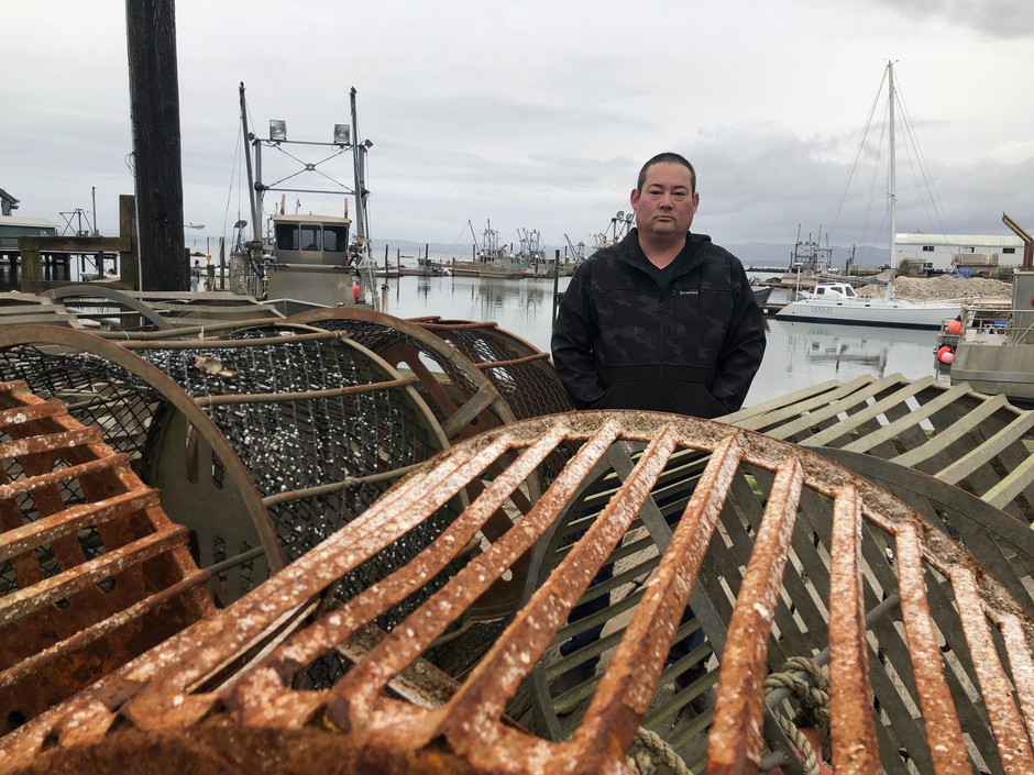 Kenichi Wiegardt is a fifth-generation oyster grower. He's worried he'll be the last in his family if the coronavirus doesn't get better and trade doesn't pick up to the Pacific Rim and China. Exports there make up the majority of his fresh oyster packing business.