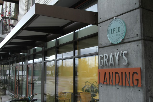 Gray's Landing is one of several apartment complexes in Portland that A Home for Every Veteran has placed veterans in.