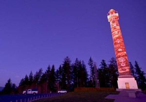 The Astoria Column will not turn pink for Breast Cancer Awareness Month in October this year.