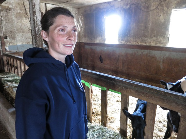 Dairy farmer Bobbi Harold Frost thinks Measure 97 is simply a sales tax in disguise. She'll vote against it.