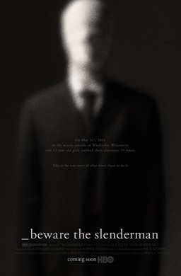 """The movie poster for """"Beware the Slenderman"""""""