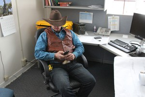 Ryan Bundy, one of the leaders of the armed militants who have taken over the Malheur National Wildlife Refuge, says his group has not accessed government computers on the site.