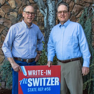 Rep. Greg Walden, Oregon's only Republican congressman, has taken the unusual move of endorsing former Klamath County Commissioner Al Switzer as a write-in candidate for the May 2016 primary.