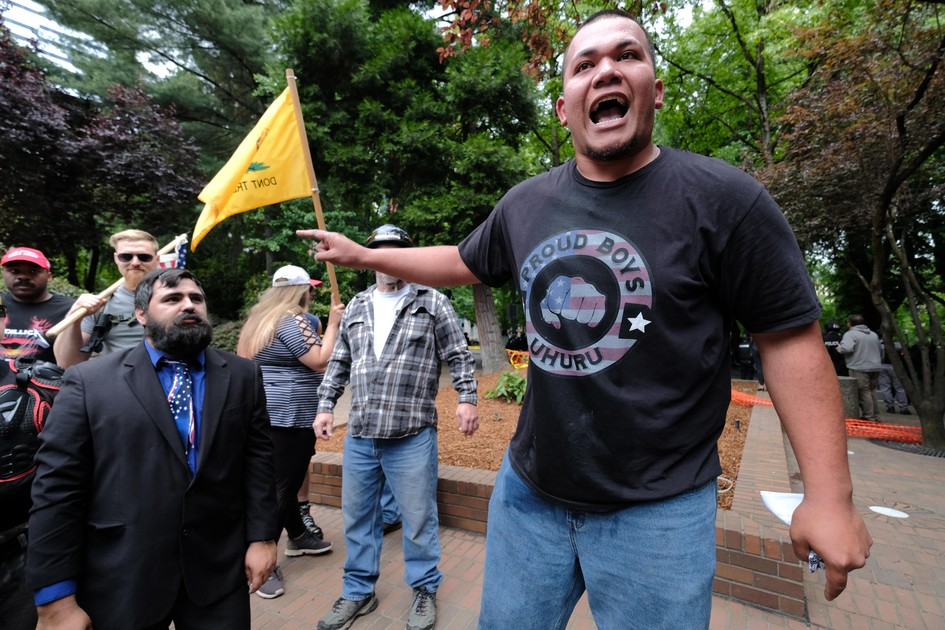 Patriot Prayer Member Tusitala 'Tiny' Toese Arrested, Charged With Assault