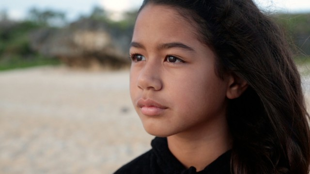 """Kaya, a young girl from the island of Saipan, learns about green sea turtles in """"My Haggan Dream."""""""
