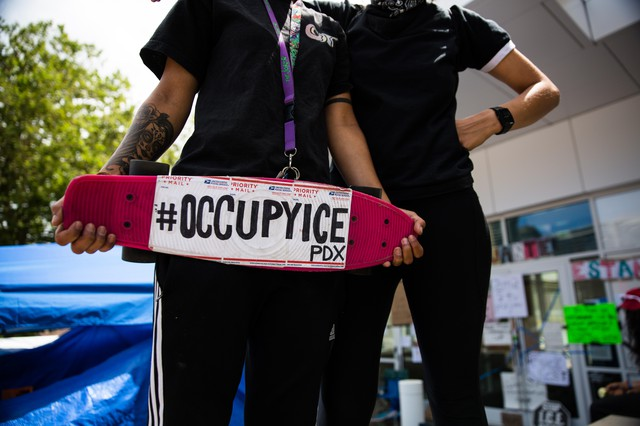 "The movement dubbed ""Occupy ICE"" has caught on in cities across the country and is a callback to the ""Occupy Wall Street"" movement of years past."
