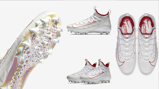 Color designer Lacey Trujillo has worked on several projects for collegiate and pro-level athletes at Nike, including cleats for lacrosse players.