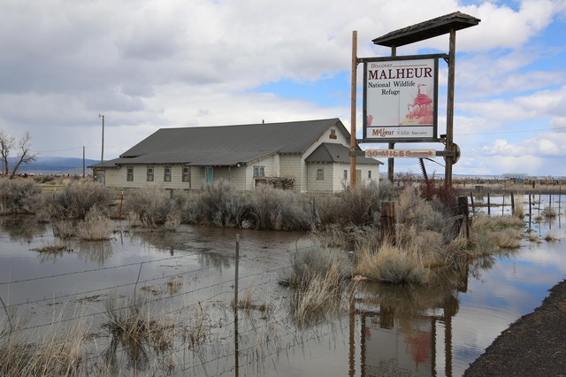 Composer Chris Thomas made several trips to the Malheur Wildlife Refuge in preparation for a musical commission celebrating the refuge's spaciousness and beauty.