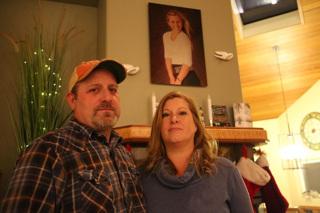 Jamie and Crystal Sawyer talk about Kaylee a lot.They keep her portrait over the fireplace of their home in Bend. They're still raising two boys.