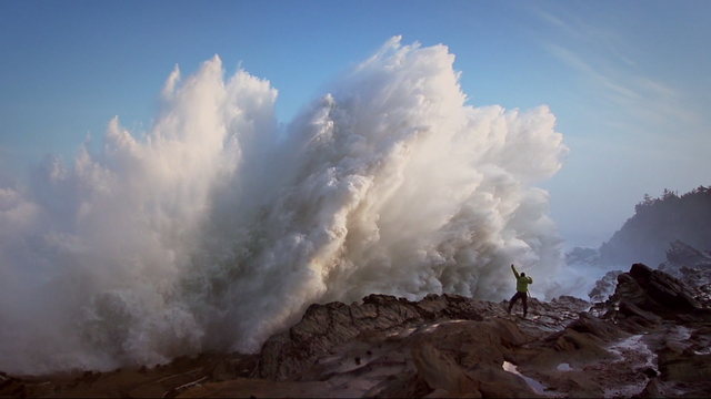 """Uncage the Soul Productions takes a journey along the entire 363 miles of the Oregon coastline forthe film """"The Oregon Coast: A Winter Odyssey."""""""