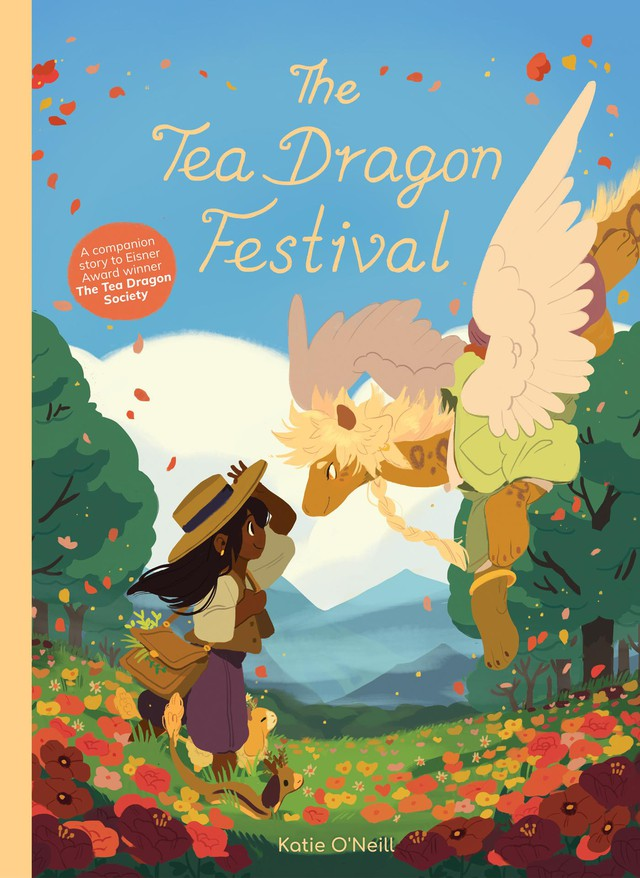 """Katie O'Neill's """"Tea Dragon Society"""" books have proved a solid hit for Oni's porfolio of titles for middle grade readers."""