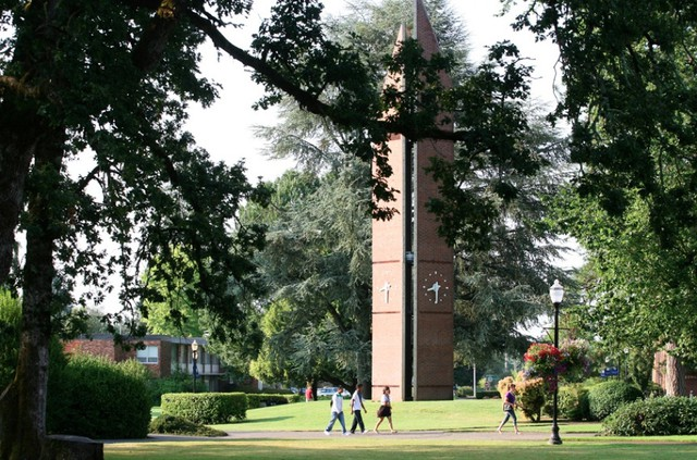 Tower at George Fox University