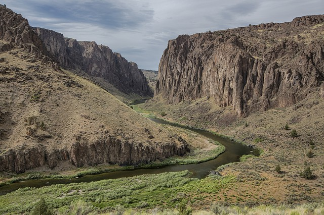 Owyhee River in Malheur County, Oregon.