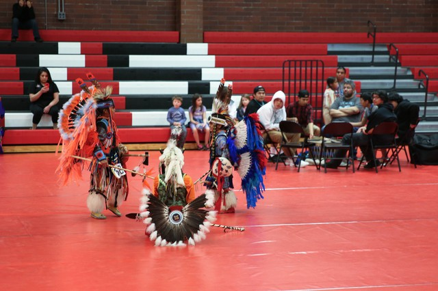 Pow Wow at Chemawa Indian School back in May of 2017.