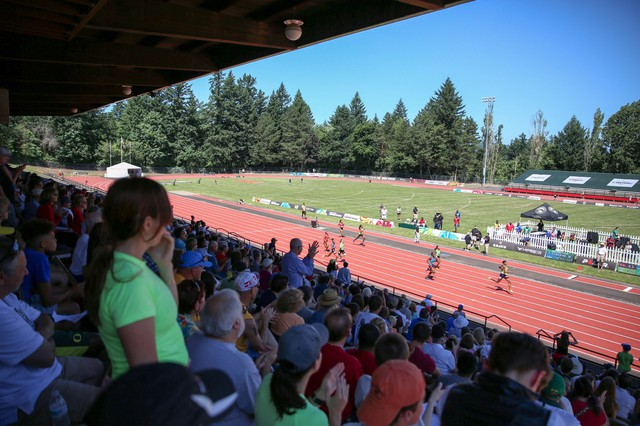 Track and field can be hard to follow for the casual fan. Several fans, though, said they saw the Summer Series meet as a good appetizer to the sport.