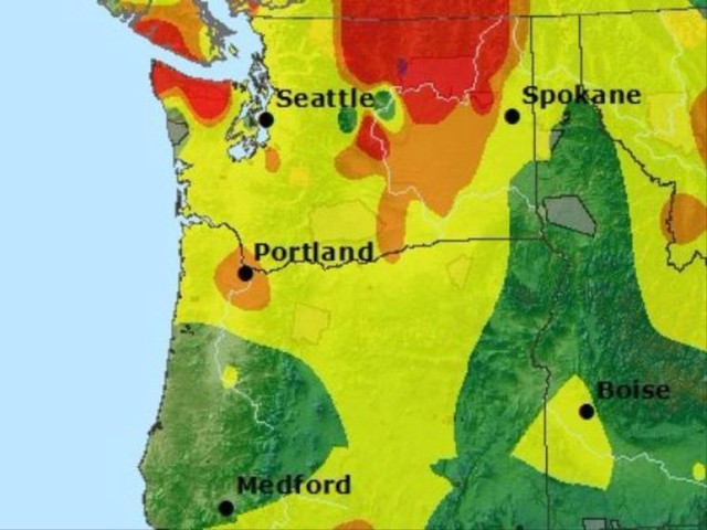 Smoke From Wildfires In British Columbia Moves Over Willamette
