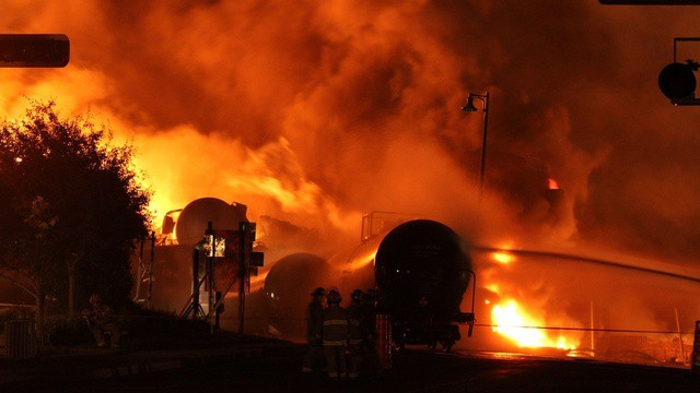 Rail and oil companies do not have to disclose how many DOT-111 tanker cars travel through the Northwest. DOT-111 tanker cars, which exploded in Lac-Mégantic, Quebec, and killed 47 people, have a design flaw and are easily punctured.