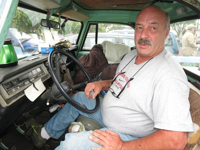 """John lives in his truck and takes heroin to deal with his chronic pain. """"It's a really upsetting story and one thing that's so upsetting about it, is that it's actually quite common,"""" said neurologis Dr. Eve Klein."""