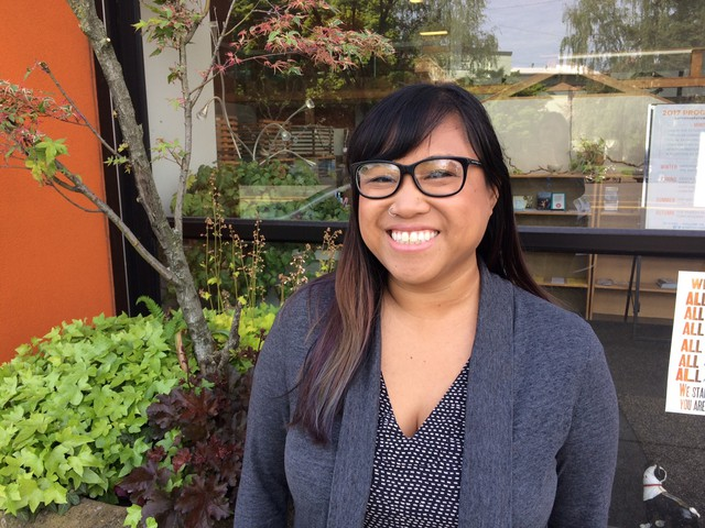 Luann Algoso grew up in a multiracial community in Anaheim, California, before moving to Oregon for college.