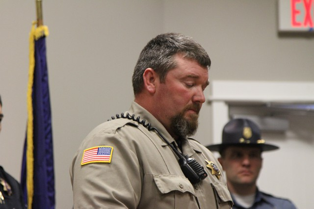 Harney County Sheriff David Ward expressed his thankfulness for the patience and persistence of law enforcement and the community of Burns. The occupation of the Malheur National Wildlife Refuge ended Thursday, Feb. 11.