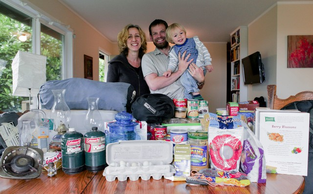 Patrick Alexander and Krista Eddy say before the weekend they think they're more prepared for a natural disaster than others, but are worried that they don't have enough water.