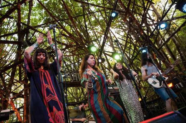 The Haim sisters of A-WA blend a form of traditional Yemenite chanting with electronic dance and funk music — and it's irresistible.