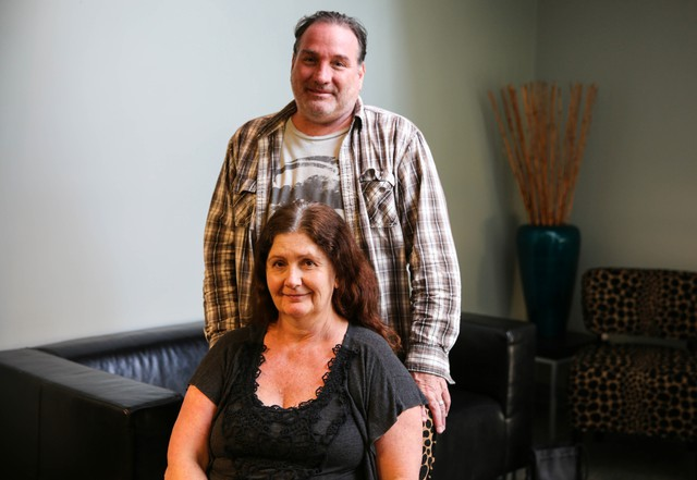 Robert and Monique Dock are employed but unable to find an apartment they can afford to rent.