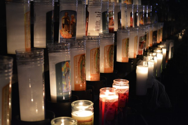 The Grotto is a Catholic sanctuary in Northeast Portland famous for its annual Festival of Lights.