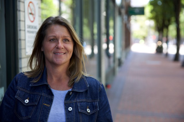 "Melissa Bishop, a hiring managed at Portland's homeless organization 'Central City Concern,' says waiting for background checks is frustrating, ""We offer them the job, they're really excited and then they either start the job or are waiting to start the job and then find out that their background has held them back once again."""