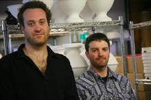Owners Brett Binford and Chris Lyon startedMudshark Studiosseven years ago when they were in their 20s.
