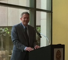 Rogers told attendees of a public forum Monday he wants to help arts and culture groups tap into diverse funding sources outside the state.