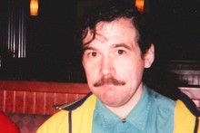 James Chasse, at a restaurant, several years before his death.