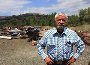 Boyd Britton serves as a commissioner in Grant County, Oregon.