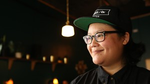 """""""I get to collaborate with, you know, people that I really care about and like I have been collaborating with over the years."""" Photographer-turned-coffee bar owner Ro Tam, of Portland's Either/Or Coffee and Tanglewood Beverages."""