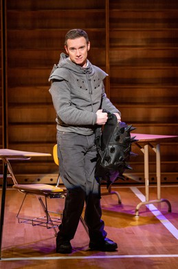 """Actor Christopher Imbrosciano, as Richard in Artists Repertory Theatre's production of Mike Lew's """"Teenage Dick"""", an adaptation of Shakespeare's """"Richard III"""", re-cast in a modern-day high school."""