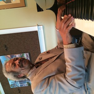 Allen Toussaint, at home in New Orleans.