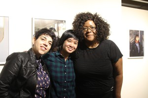 Tender Table founder Stacy Tran (center) with storytellers Mercedes Orozco (left) and Leslie Stevenson (right).