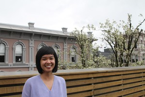 Stacey Tran's writing can be found in Brooklyn Rail,diaCRITICS, and The Volta.