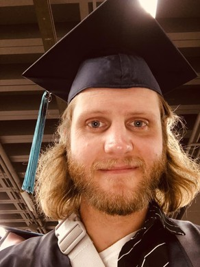 Lane Martin at his Portland Community College Graduation.