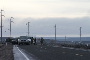 Several residents of Harney County told OPB they were happy that law enforcement arrested eight occupiers.