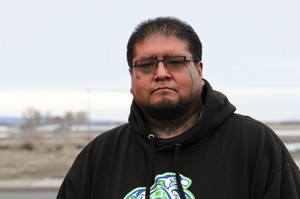 Burns Paiute Tribe council member, Jarvis Kennedy, Feb. 29, 2016.