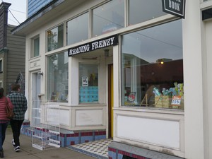 Reading Frenzy, Chloe Eudaly's indie bookstore, was a longtime fixture on Mississippi Avenue, home to readings, retail, and more. Eudaly closed the store December 31st.