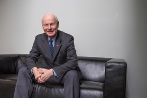Oregon Secretary of State Dennis Richardson poses for a portrait on Thursday, March 2, 2017.
