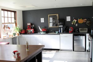 """Communal kitchens became a flash point at Milepost 5. Developer Brad Malsin said, """"The only thing I would change is the operating system. I would build in, from the beginning, a cleaning service who comes in and cleans baths and kitchens two to three times a day."""""""